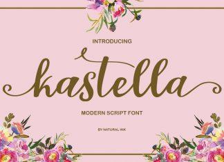 kastella script Other Font
