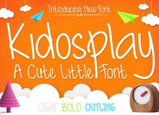 Kidosplay Font