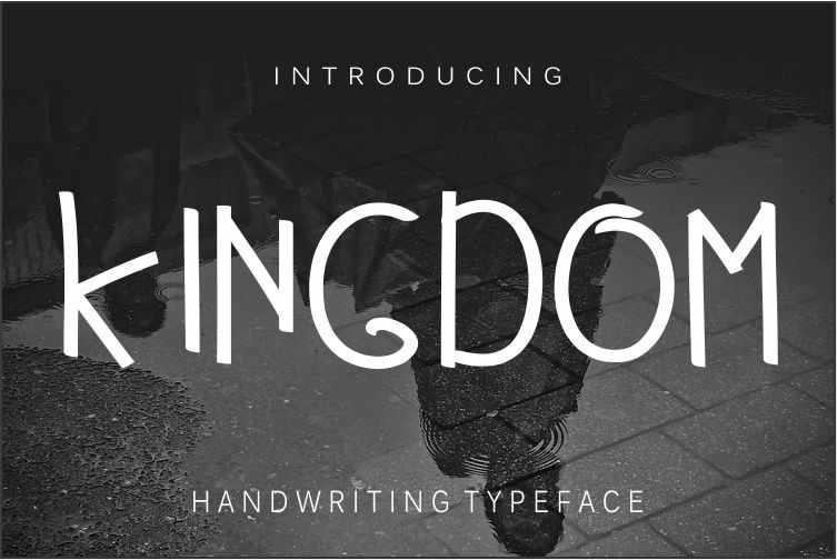 Kingdom Regular Font