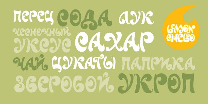 Lemonchello Font