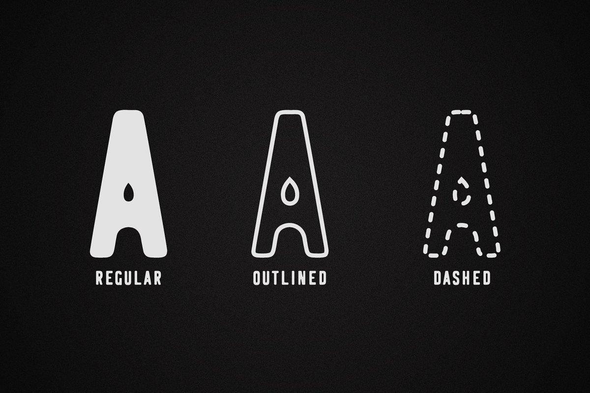 Logbond Font Family