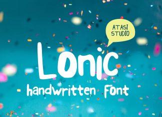 Lonic Script Font