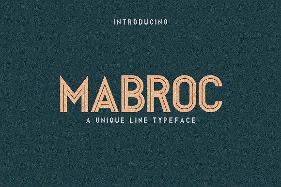 Mabroc Script Font