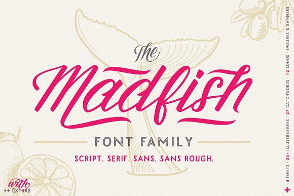 Madfish Font Family