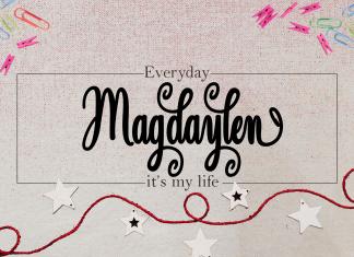 Magdaylen Script Font