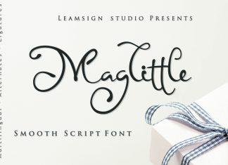 Maglittle Font Script Font