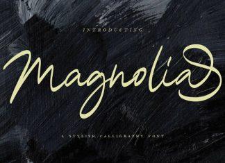 Magnolia Calligraphy Font