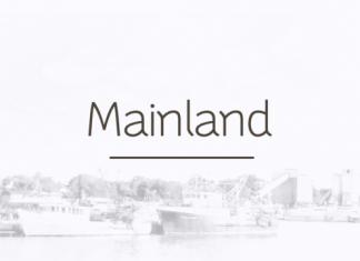 Mainland Font Family