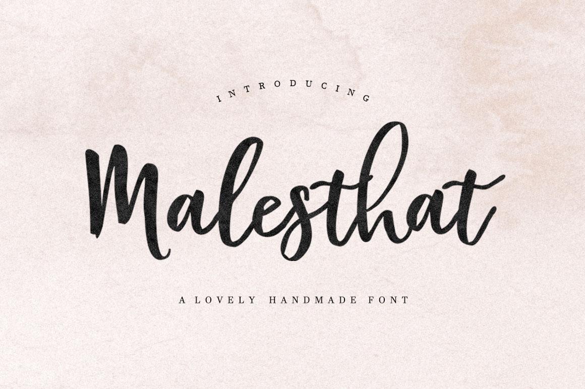 Malesthat Script