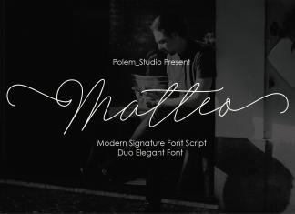 Matteo Script Font