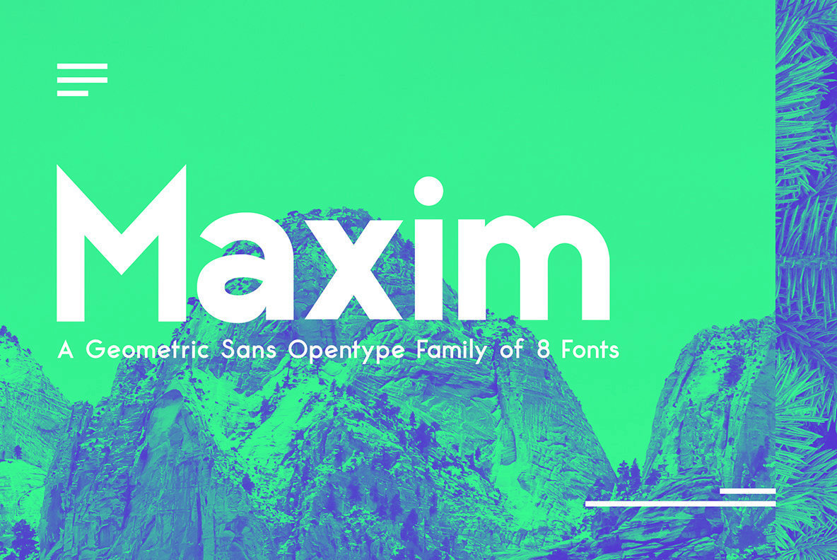 Maxim Sans Font Family