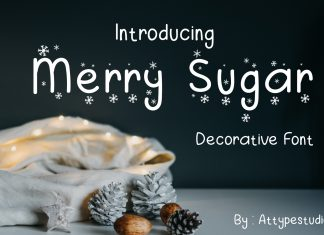 Merry Sugar Foreign Font