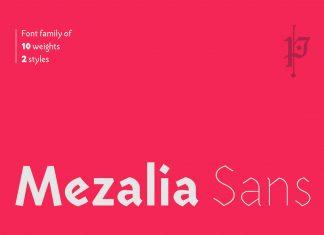 Mezalia Sans Font Family