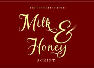 Milk&Honey Script Font