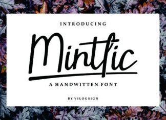 Mintlic Font