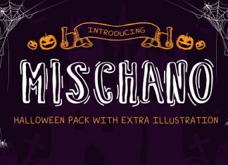 Mischano Typeface With Extras