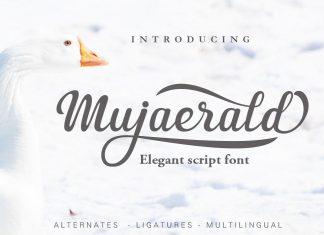 Mujaerald Font Script Font
