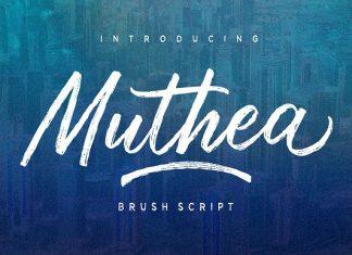Muthea Font
