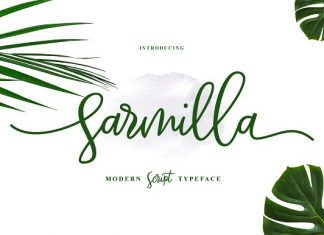 NEW FONT | Sarmilla Script