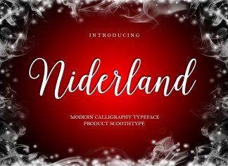 Niderland Script Font
