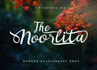 Noorlita Beautiful Calligraphy Font