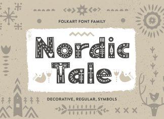 Nordic Tale - Folkart Font FamilyOther Font