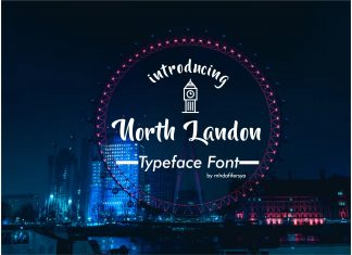 North LandonScript Font