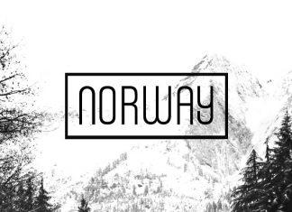 NORWAY - Unique Display Typeface