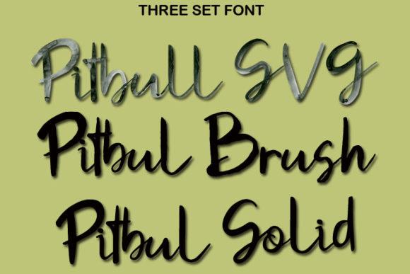 Pitbull Font