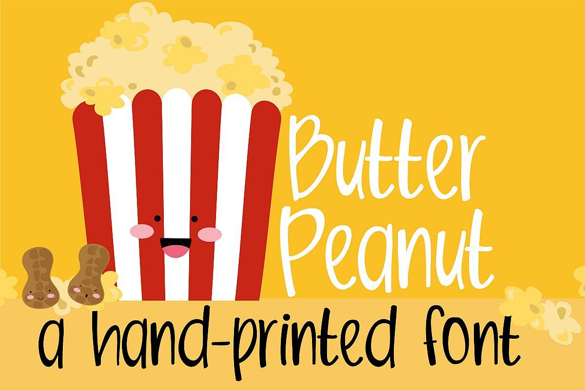 PN Butter PeanutRegular Font