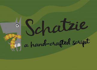 PN Schatzie Script Font