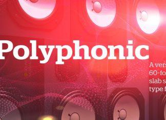 Polyphonic Font Family