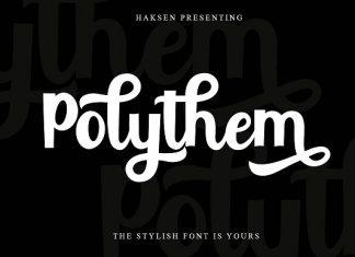 Polythem Bold Classy Font