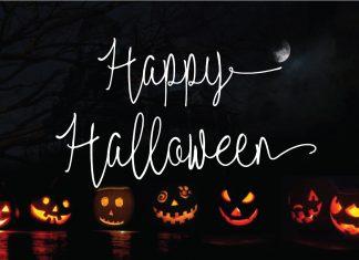 Red Satanic | Halloween & ChristmasScript Font