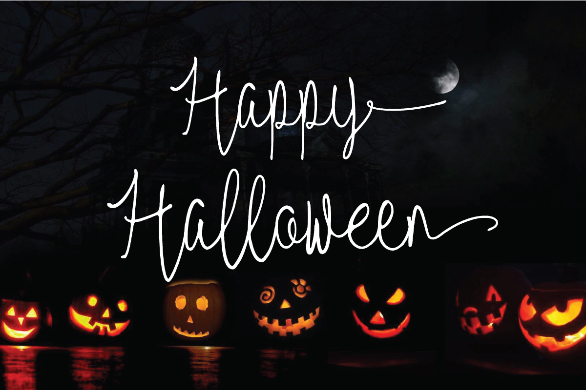 Red Satanic   Halloween & ChristmasScript Font
