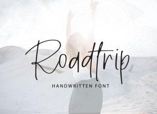 RoadtripScript Font