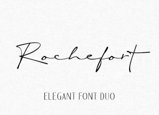 Rochefort | Luxury Font DUO