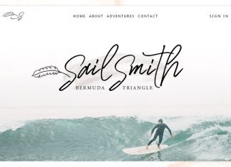 Sail Smith Font