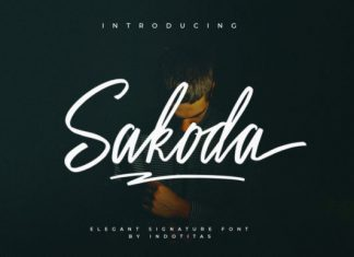 Sakodota Font