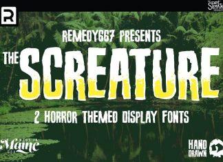 Screature Font