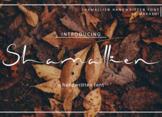 Shamallien Font