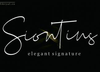 Siontins Font