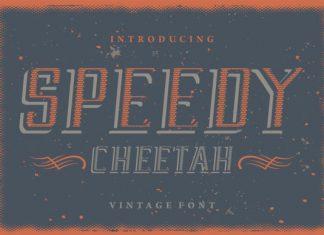 Speedy Cheetah Font