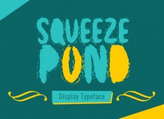 Squeeze Pond Font