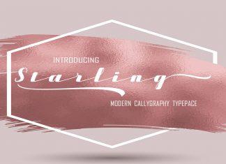 Starling Script Font