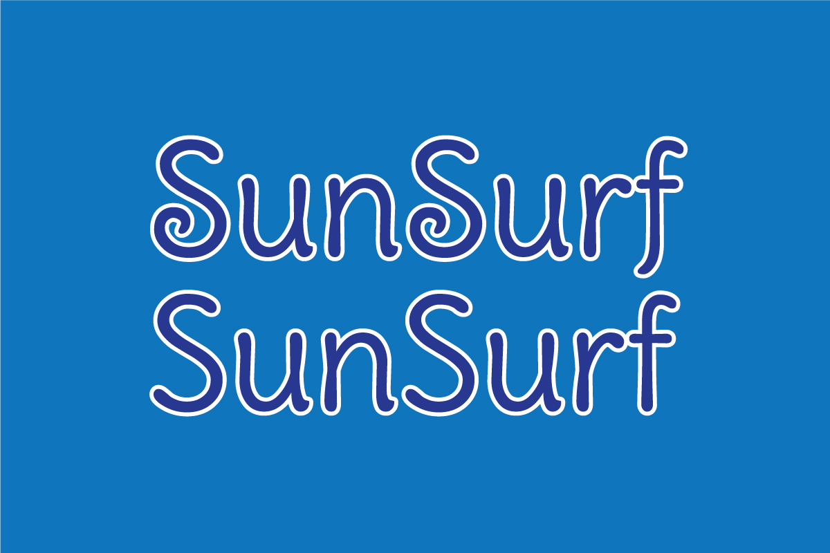 SunSurf Script Font
