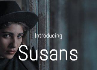 Susans Sans Serif Font