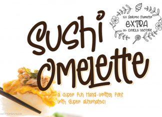 Sushi Omelette Regular Font