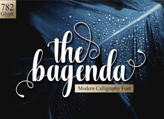 The BagendaScript Font