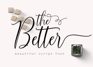 The BetterScript Font